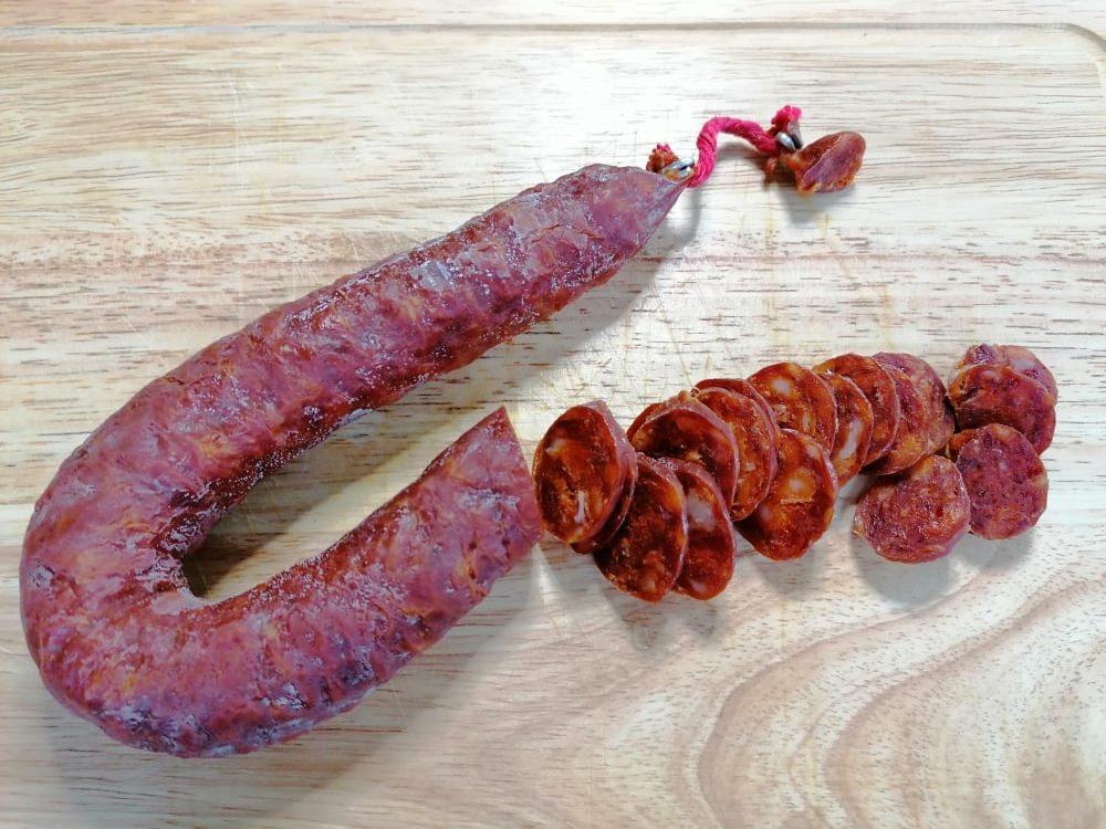 Chorizo Geschnitten